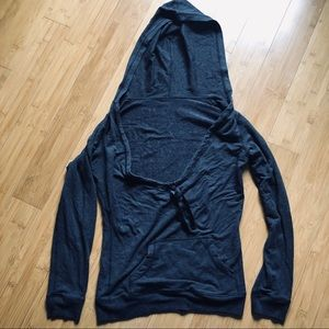 Lululemon Hoodie with low jaw strong neck